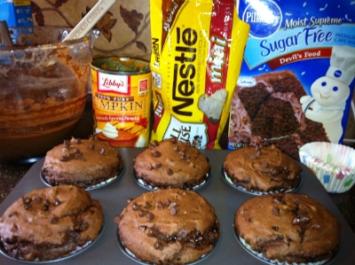 3 ingredient muffins