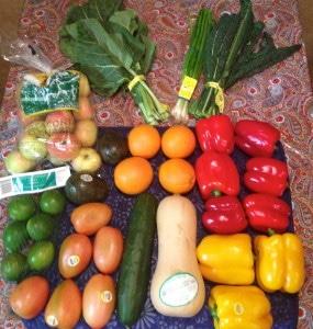 The organic basket ($25.00)