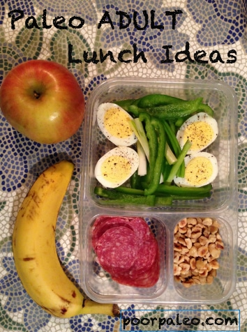 Paleo Adult Lunch Box