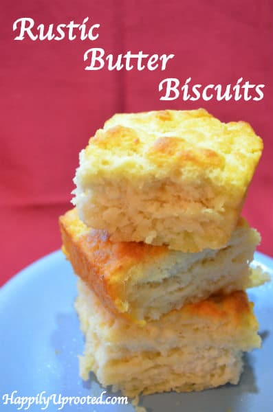 Rustic Butter Biscuits