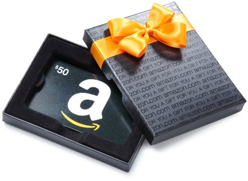 Win a $50.00 Amazon Giftcard!