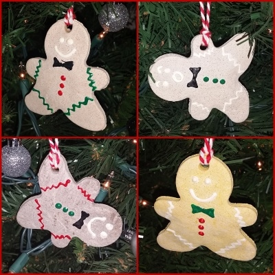 Easy Salt Dough Ornaments
